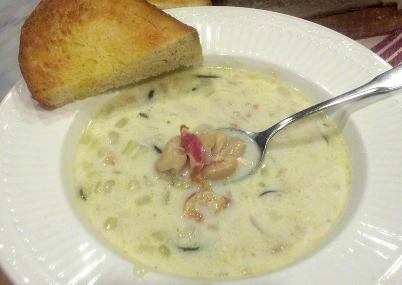 White Barszcz Soup