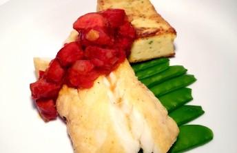 Hungarian Sausage Chutney and Fish