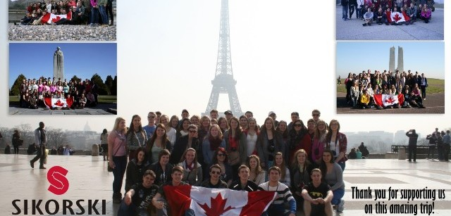 St. Joseph's Catholic High School - Europe Trip 2014