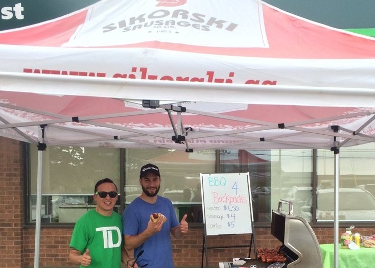 TD Canada BBQ For Backpacks