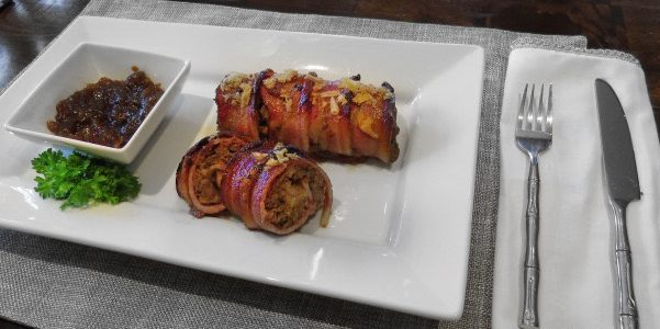 Bacon Sushi Roll