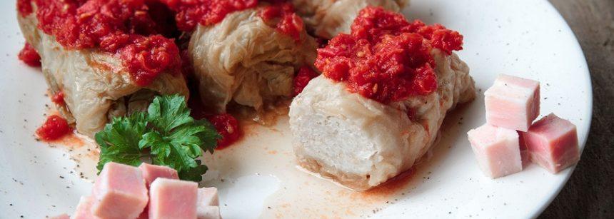 Bacon Cabbage Rolls - Golabki