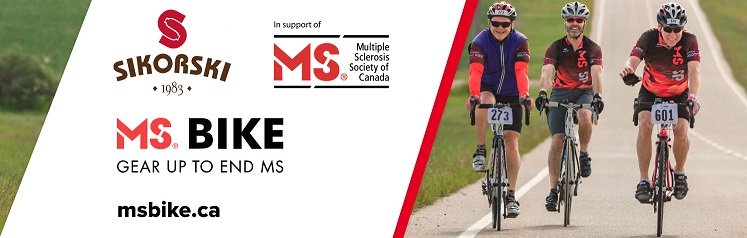 Sikorski is gearing up with the MS Society!